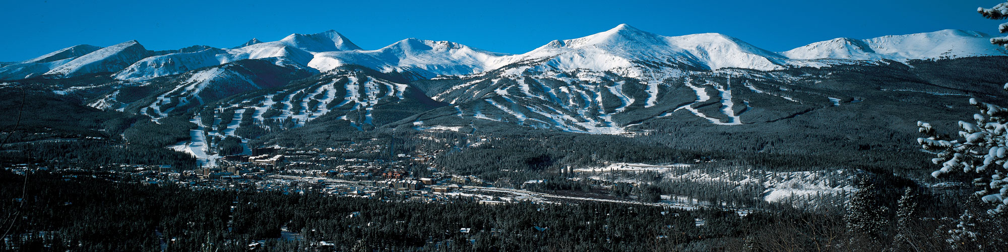 Breckenridge in the winter